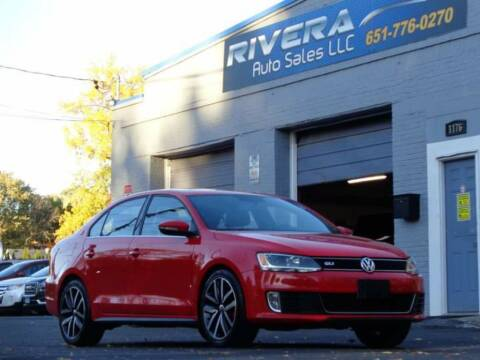 2013 Volkswagen Jetta for sale at Rivera Auto Sales LLC in Saint Paul MN