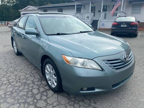 2007 Toyota Camry for sale at CVC AUTO SALES in Durham NC