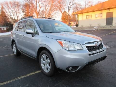 2015 Subaru Forester for sale at Fox River Motors, Inc in Green Bay WI