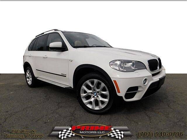 2012 BMW X5 for sale at PRIME MOTORS LLC in Arlington VA