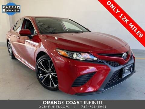 2019 Toyota Camry for sale at ORANGE COAST CARS in Westminster CA