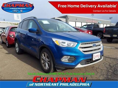 2018 Ford Escape for sale at CHAPMAN FORD NORTHEAST PHILADELPHIA in Philadelphia PA
