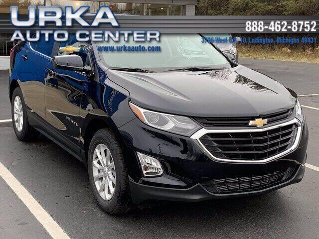 2021 Chevrolet Equinox for sale at Urka Auto Center in Ludington MI