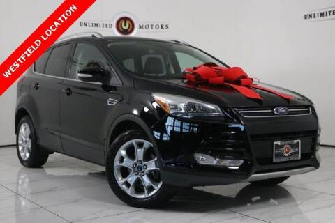 2016 Ford Escape for sale at INDY'S UNLIMITED MOTORS - UNLIMITED MOTORS in Westfield IN
