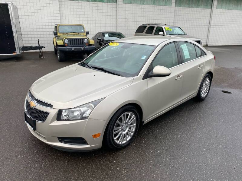 2013 Chevrolet Cruze for sale at Vista Auto Sales in Lakewood WA