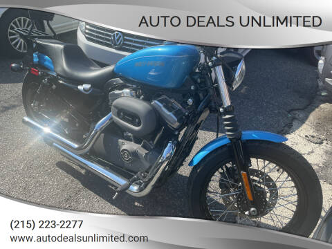 2011 Harley-Davidson XL1200 for sale at AUTO DEALS UNLIMITED in Philadelphia PA