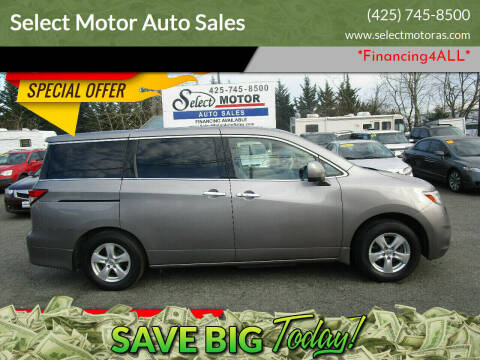 2011 Nissan Quest for sale at Select Motor Auto Sales in Lynnwood WA