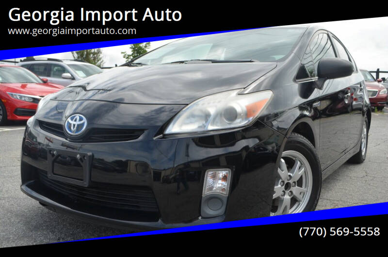 2010 Toyota Prius for sale at Georgia Import Auto in Alpharetta GA