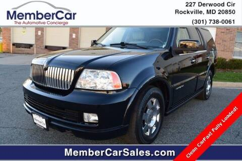 2006 Lincoln Navigator for sale at MemberCar in Rockville MD