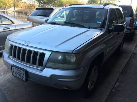 2004 Jeep Grand Cherokee for sale at Carzready in San Antonio TX