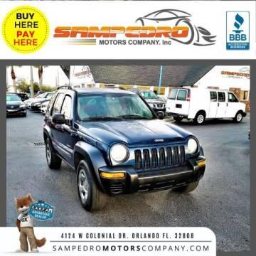 2004 Jeep Liberty for sale at SAMPEDRO MOTORS COMPANY INC in Orlando FL