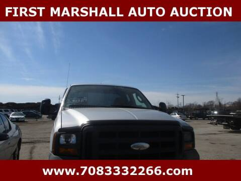 2005 Ford F-250 Super Duty for sale at First Marshall Auto Auction in Harvey IL