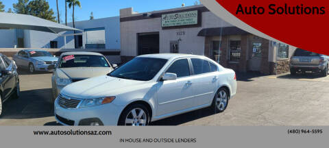 2009 Kia Optima for sale at Auto Solutions in Mesa AZ