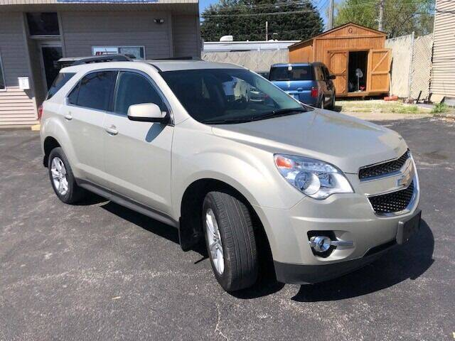 2013 Chevrolet Equinox for sale at RT Auto Center in Quincy IL