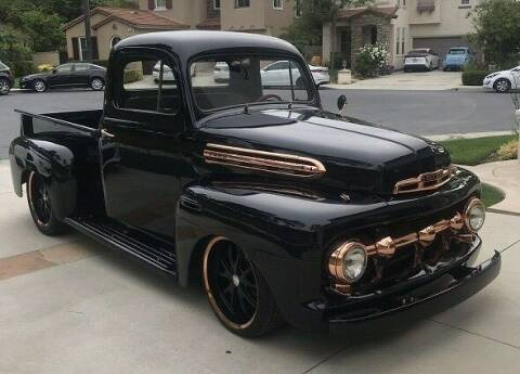1951 Ford F-100 for sale at NJ Enterprises in Indianapolis IN
