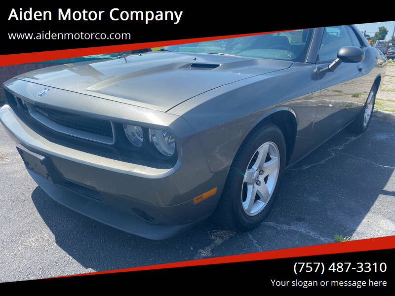 2010 Dodge Challenger for sale at Aiden Motor Company in Portsmouth VA