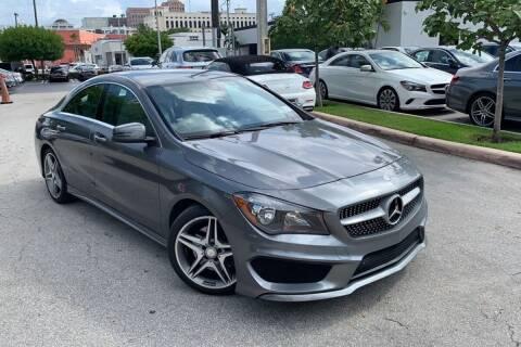 2014 Mercedes-Benz CLA for sale at POLLO AUTO SOLUTIONS in Miami FL