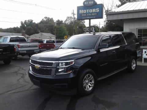 2015 Chevrolet Suburban for sale at Route 106 Motors in East Bridgewater MA