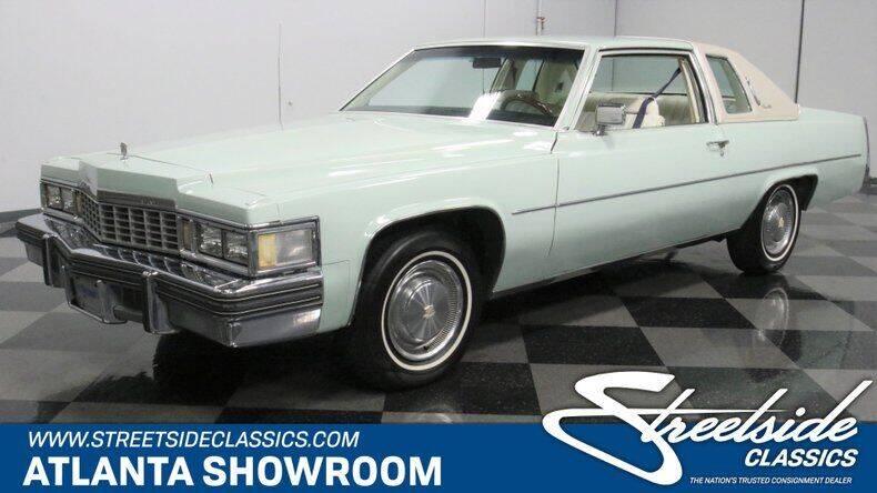 1977 Cadillac DeVille for sale in Lithia Springs, GA