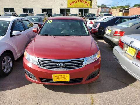 2010 Kia Optima for sale at Brothers Used Cars Inc in Sioux City IA