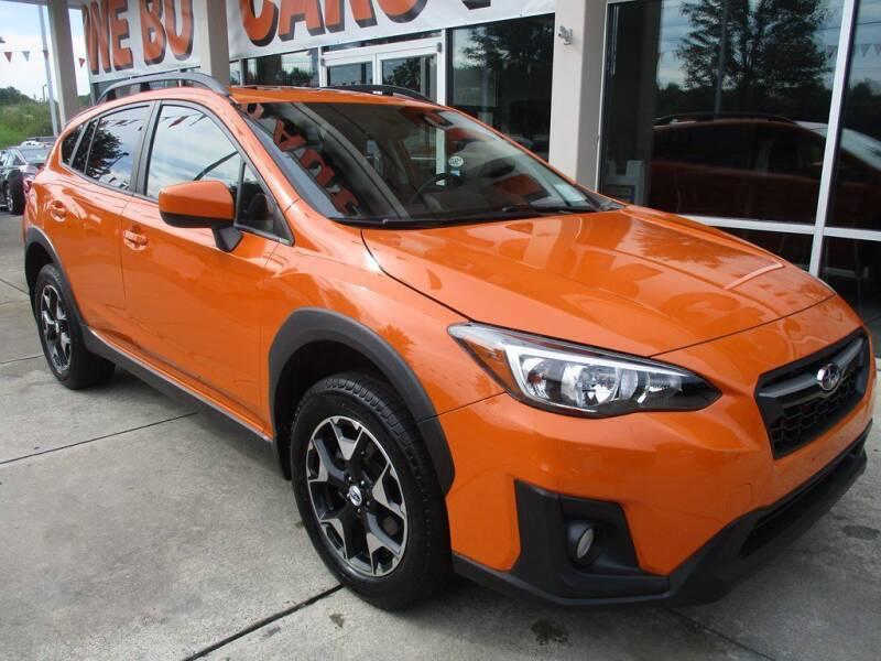 2018 Subaru Crosstrek for sale at Power On Auto LLC in Monroe NC