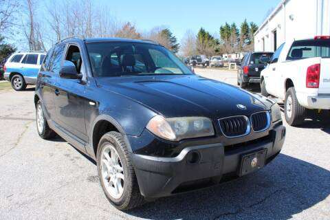 2004 BMW X3 for sale at UpCountry Motors in Taylors SC