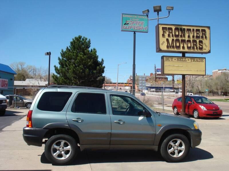 2004 Mazda Tribute for sale at Frontier Motors Ltd in Colorado Springs CO