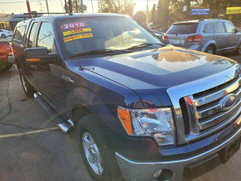 2010 Ford F-150 for sale at ZOOM CARS LLC in Sylmar CA
