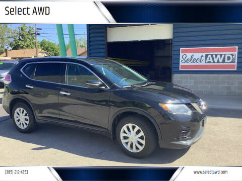 2015 Nissan Rogue for sale at Select AWD in Provo UT