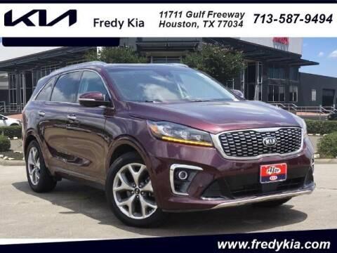 2019 Kia Sorento for sale at FREDY KIA USED CARS in Houston TX