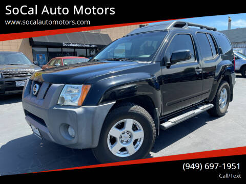 2008 Nissan Xterra for sale at SoCal Auto Motors in Costa Mesa CA