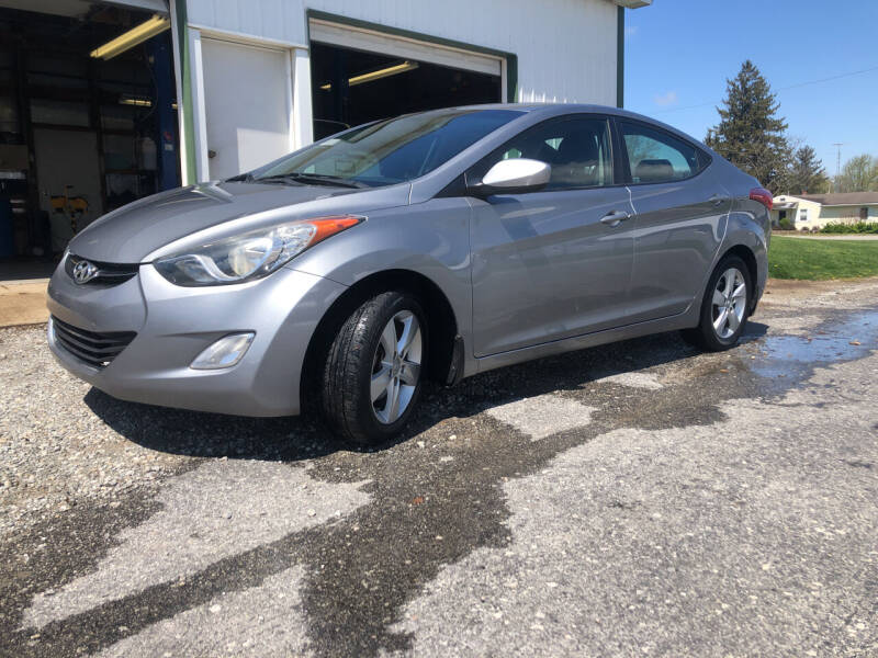 2013 Hyundai Elantra for sale at Purpose Driven Motors in Sidney OH