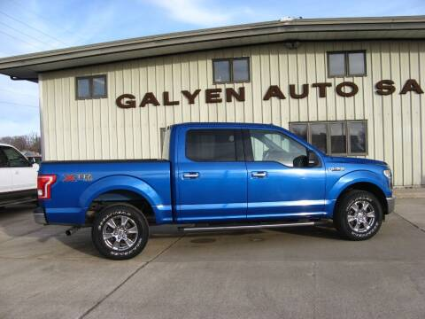 2015 Ford F-150 for sale at Galyen Auto Sales Inc. in Atkinson NE