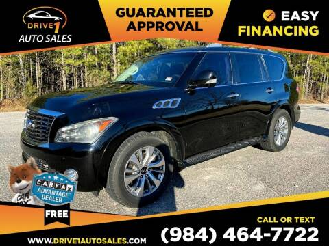 2011 Infiniti QX56 for sale at Drive 1 Auto Sales in Wake Forest NC