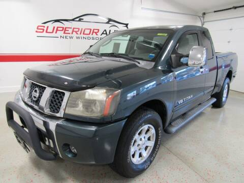 2005 Nissan Titan for sale at Superior Auto Sales in New Windsor NY