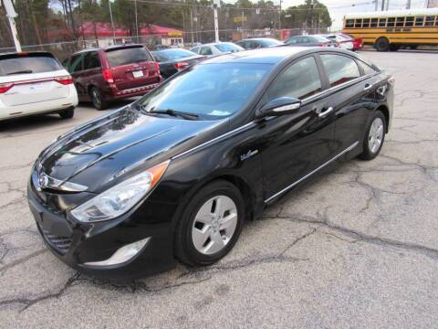 2012 Hyundai Sonata Hybrid for sale at King of Auto in Stone Mountain GA