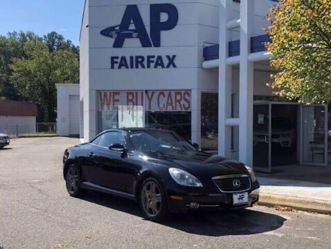 2007 Lexus SC 430 for sale at AP Fairfax in Fairfax VA