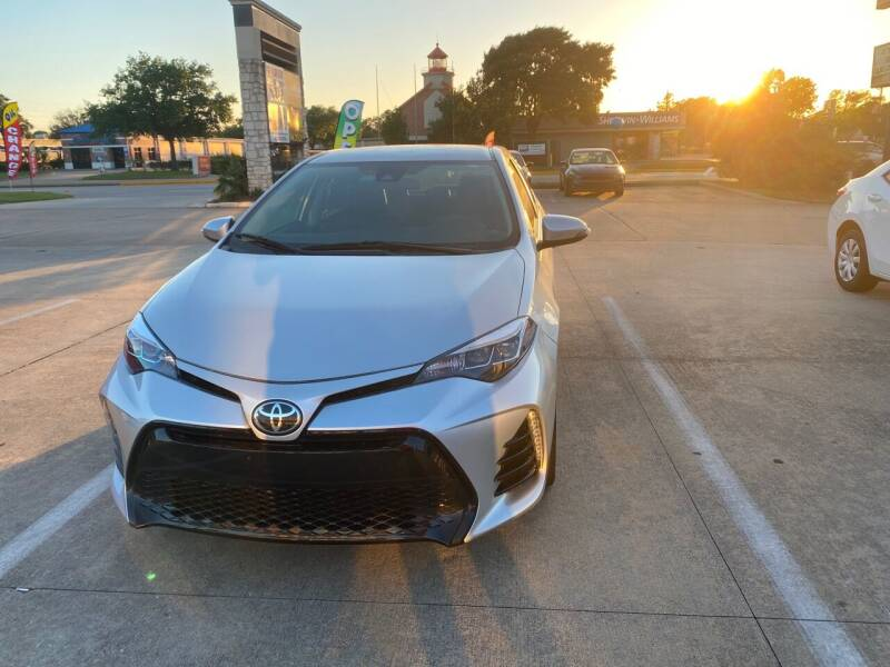 2017 Toyota Corolla for sale at Houston Auto Gallery in Katy TX