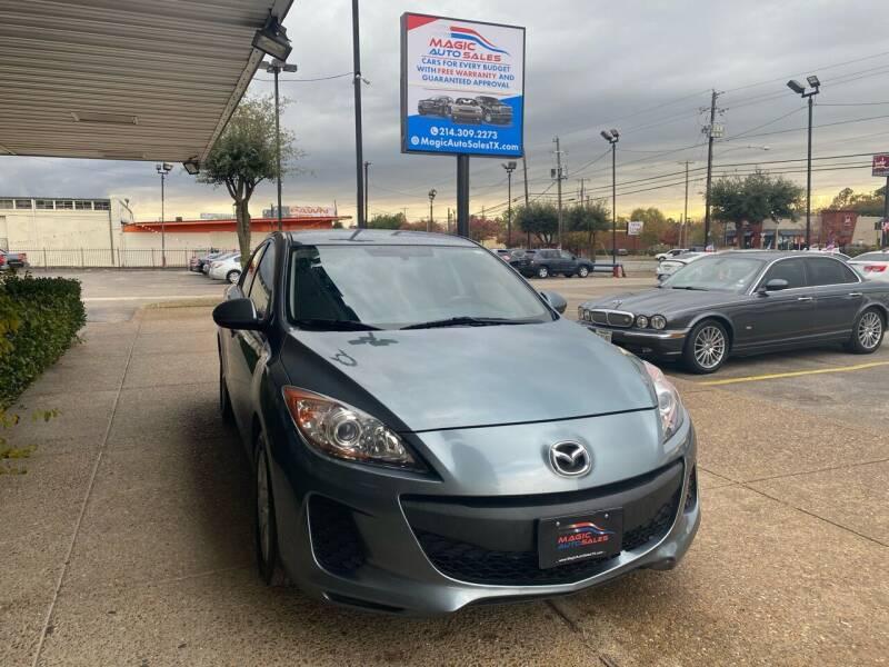 2012 Mazda MAZDA3 for sale at Magic Auto Sales in Dallas TX