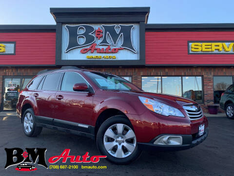 2011 Subaru Outback for sale at B & M Auto Sales Inc. in Oak Forest IL