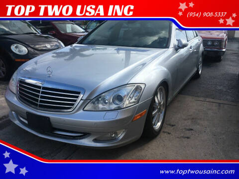 2008 Mercedes-Benz S-Class for sale at TOP TWO USA INC in Oakland Park FL