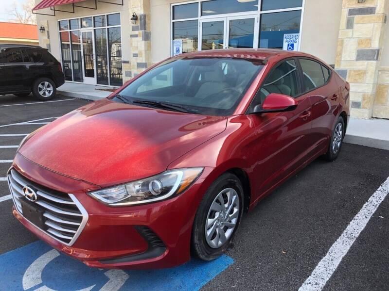 2017 Hyundai Elantra for sale at Gold Star Motors Inc. in San Antonio TX