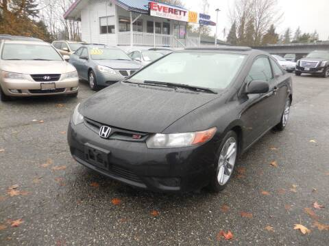 2008 Honda Civic for sale at Leavitt Auto Sales and Used Car City in Everett WA