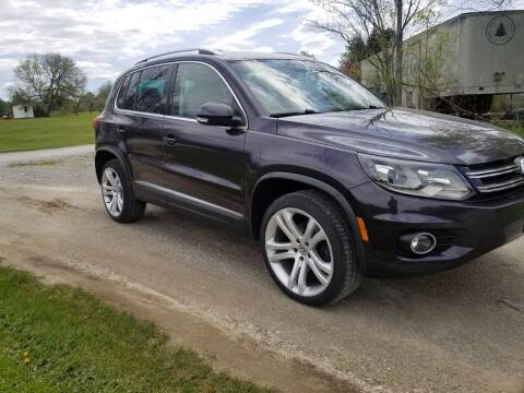 2016 Volkswagen Tiguan for sale at Pittsford Automotive Center in Pittsford VT
