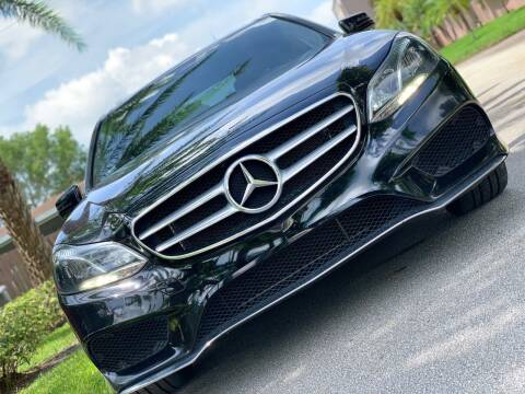 2014 Mercedes-Benz E-Class for sale at HIGH PERFORMANCE MOTORS in Hollywood FL