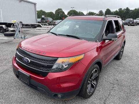 2013 Ford Explorer for sale at BILLY HOWELL FORD LINCOLN in Cumming GA