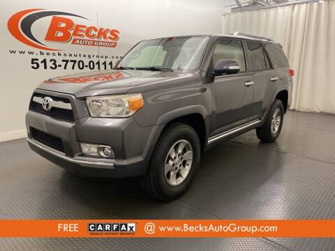2012 Toyota 4Runner for sale at Becks Auto Group in Mason OH