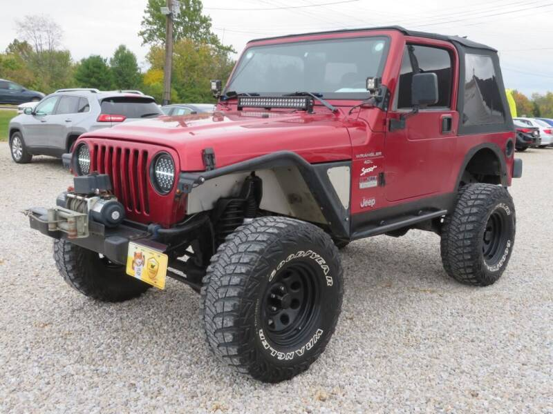 1998 Jeep Wrangler for sale at Low Cost Cars in Circleville OH