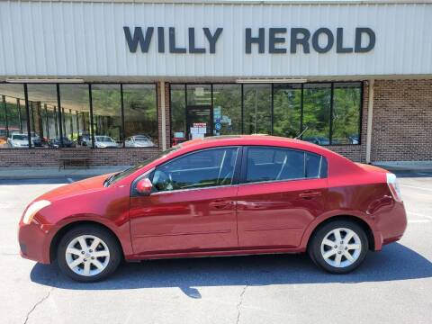 2007 Nissan Sentra for sale at Willy Herold Automotive in Columbus GA