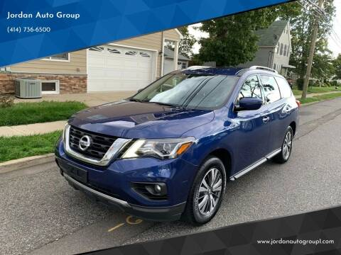 2018 Nissan Pathfinder for sale at Jordan Auto Group in Paterson NJ